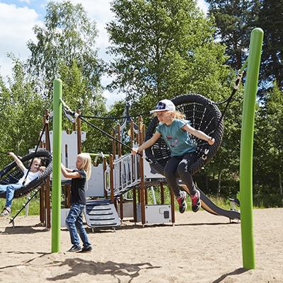 Juegos de colegio, columpios de jardin para niños| HAGS
